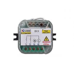 Πλακέτα τηλεχειρισμού φωτισμού 2 καναλιών 230V 433,92 Mhz IQ1000 ON/OFF Autotech