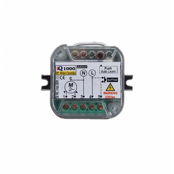 Πλακέτα τηλεχειρισμού ρολλών 230V 433,92Mhz IQ1000 Autotech