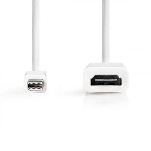 Αντάπτορας mini DisplayPort αρσενικό -> HDMI θηλυκό CCGP37650WT02 Nedis