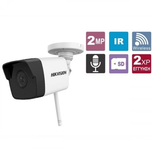 Κάμερα Cube ασύρματη 2.8mm IP 2MP DS-2CV1021G0-IDW1 Hikvision