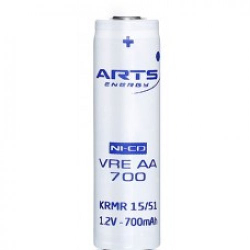 Μπαταρία 1 pc x 1.2V AA 700mAh Νi-Cd VREAA700 Arts Energy
