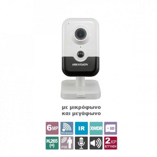 Κάμερα Cube 2.8mm Easy ασύρματη IP 2.0 6MP DS-2CD2443G0-IW Hikvision