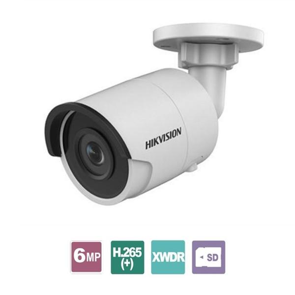Κάμερα Bullet 6.0mm Easy IP 3.0 IP67 6MP DS-2CD2065FWD-I Hikvision