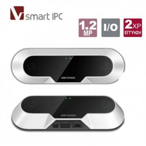 Κάμερα καταμέτρησης ανθρώπων 2.0mm Smart IPC 1.2MP iDS-2CD6810F/C Hikvision