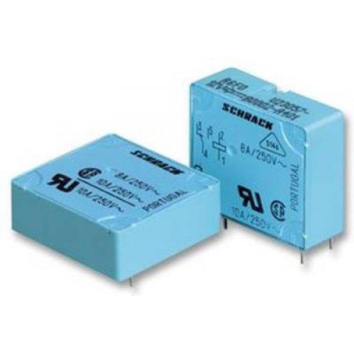 Relay mini 12V DC 8A SPDT 1-form-C Co or 1-form-A NO V23057-A002-A201 Tyco schrack