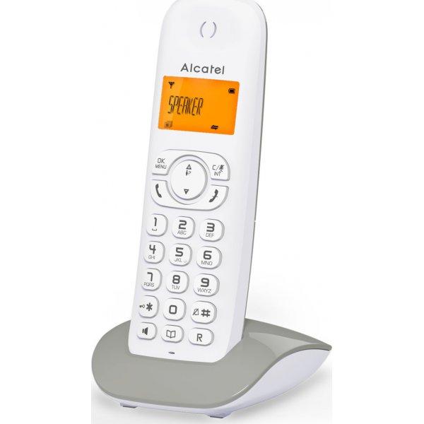 Τηλέφωνο ασύρματο λευκό γκρί C350 Alcatel