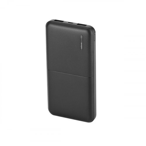 Power bank 10000mAh με διπλό USB με οθόνη Led μαύρο 8897 VT-3518 V-TAC