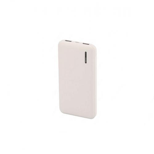 Power bank 10000mAh με διπλό USB με οθόνη Led λευκό 8898 VT-3518 V-TAC