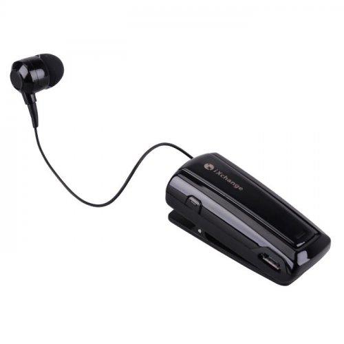 Ακουστικό bluetooth headset retractable μαύρο UA-24ST-B  iΧchange