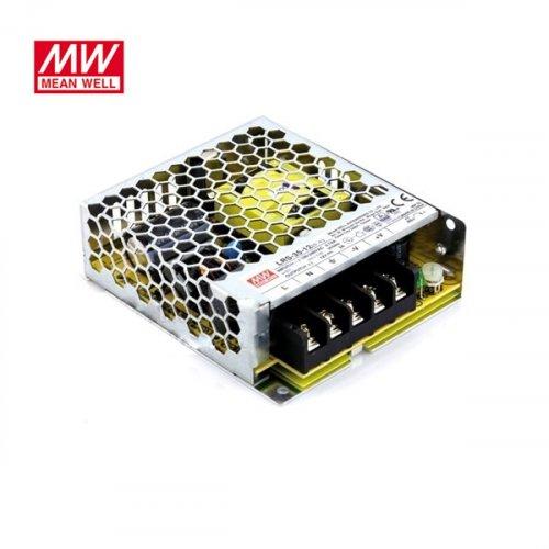 Τροφοδοτικό switch 230V IN -> OUT 24VDC 35W 1.5A κλειστού τύπου ultra mini LRS35-24 Mean Well