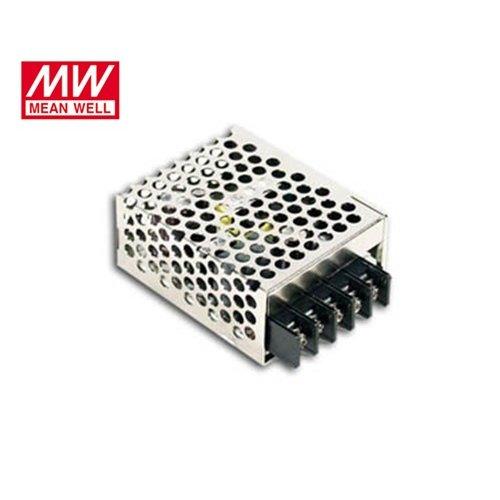 Τροφοδοτικό switch 230V IN -> OUT 24VDC 15W 0.625A κλειστού τύπου mini RS15-24 Mean Well