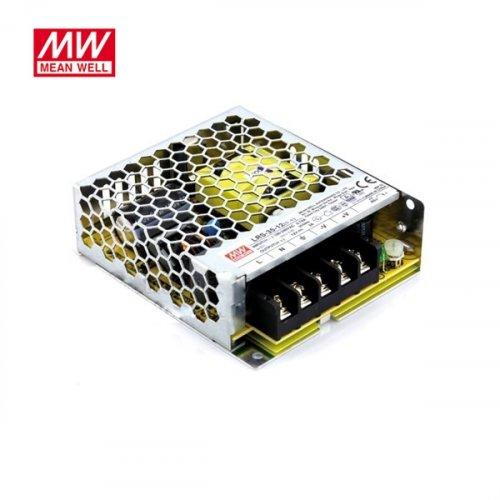 Τροφοδοτικό switch 230V IN -> OUT 24VDC 75W 2.2A κλειστού τύπου ultra mini LRS50-24 Mean Well