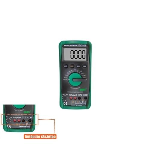 Πολύμετρο ψηφιακό DY2108 Duoyi