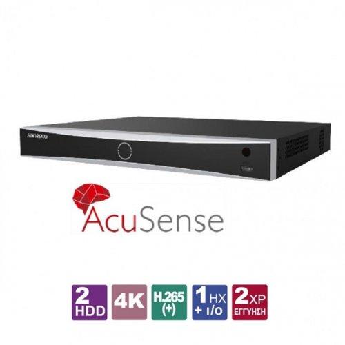 NVR 16 IP καναλιών 4K AcuSense DS-7616NXI-I2/4S Hikvision