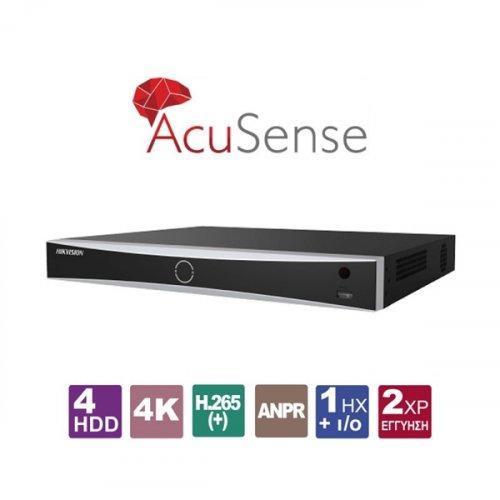 NVR 16 IP καναλιών 4K AcuSense DS-7716NXI-I4/4S Hikvision