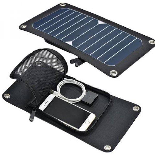Πάνελ φωτοβολταϊκό 7W με φόρτιση USB 5V 1.4A SRUSB-7 Invictus