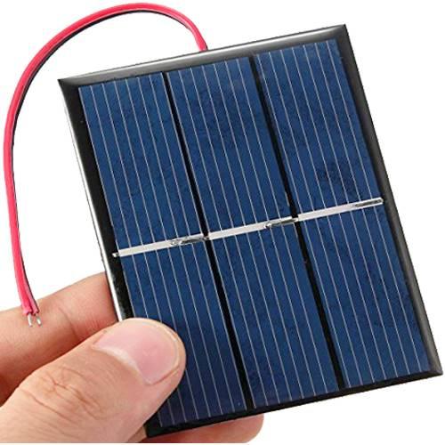 Πάνελ φωτοβολταϊκό Module 6V 0.6W 74x62mm