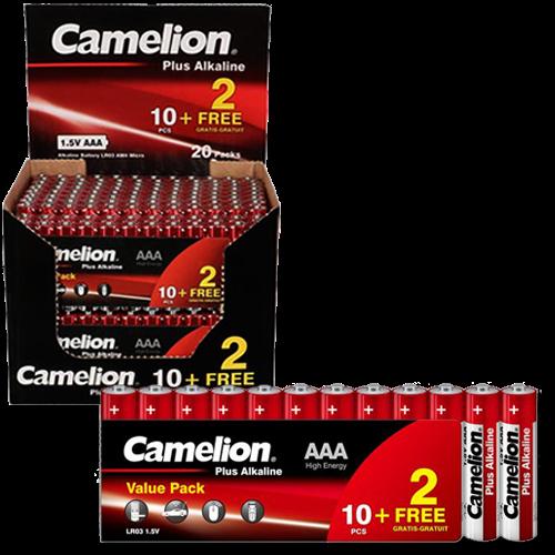 Μπαταρία αλκαλική LR03-SP10 AAA BL10pcs Plus Camelion