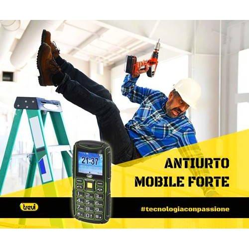 Κινητό τηλέφωνο εργασίας αδιάβροχο Forte 80 Trevi