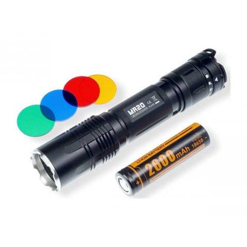 Φακός Led 1 x 3,7v 18650 1800Lumen IPX-8 MR20 Fitorch