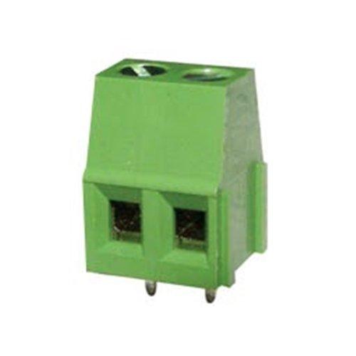 Κλέμα τυπωμένου 2Pins 14.3mm πράσινη ασανσέρ KF128-2P-1-4 DFT