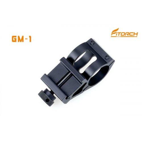 Βάση στήριξης Φακού Led σε όπλο GM-1 Fitorch