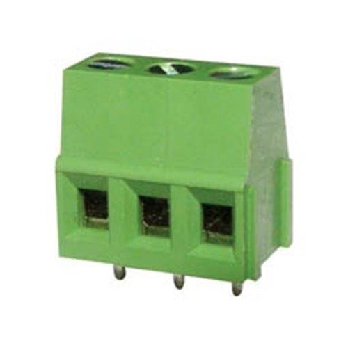 Κλέμα τυπωμένου 3Pins 14.3mm πράσινη ασανσέρ KF128-3P-1-4 DFT