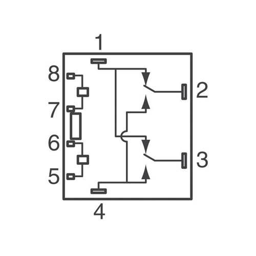 Relay mini 12V DC 25A DC SPDT 1c x 2 Dual G8ND-2-AS SK Omron