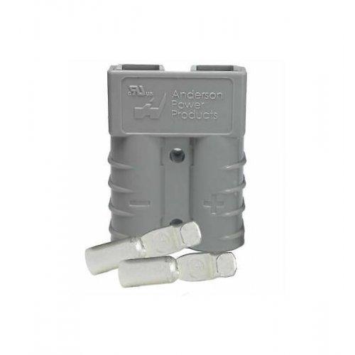 Κοννέκτορας υψηλής ισχύος 2pin 10-12 AWG 50A γκρι SB50 Anderson Power
