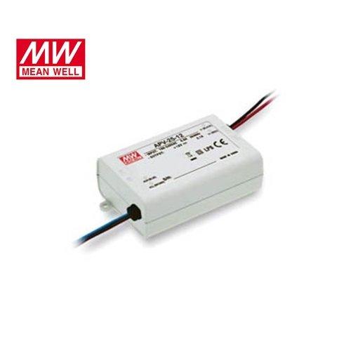 Τροφοδοτικό Led 230V IN -> OUT 12VDC 25W 2.1A IP42 APV25-12 Mean Well