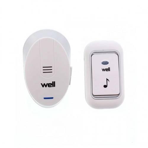 Κουδούνι Ασύρματο AC 230V 32 μελωδίες με DC control Doorbell-knock-wl well