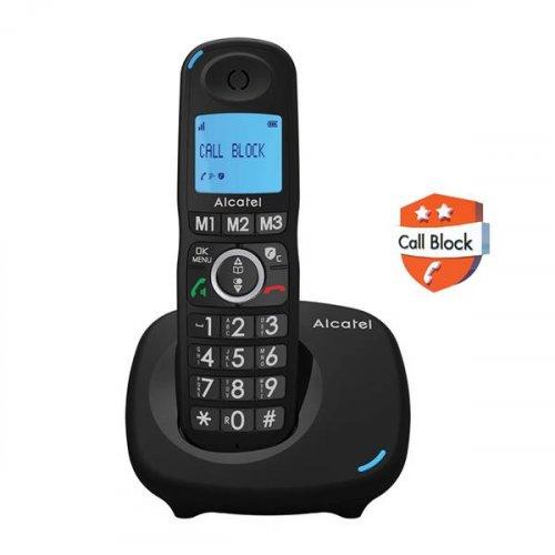 Τηλέφωνο ασύρματο dect μαύρο XL535 Alcatel