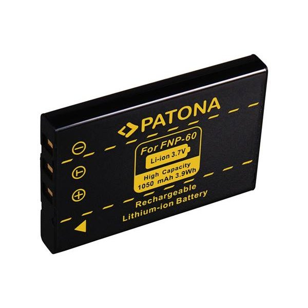 Μπαταρία 3.7V 1050mAh Li-Ion PL60 FNP-60 1015 για Kodak Easyshare LS Seriesς Patona