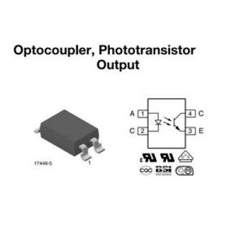 Optocoupler 70V SFH6156-2 SMD-4 Vishay