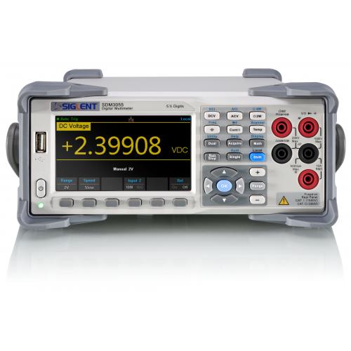Πολύμετρο ψηφιακό πάγκου διπλής οθόνης 5 1/2 ψηφίων SDM3055  SIGLENT