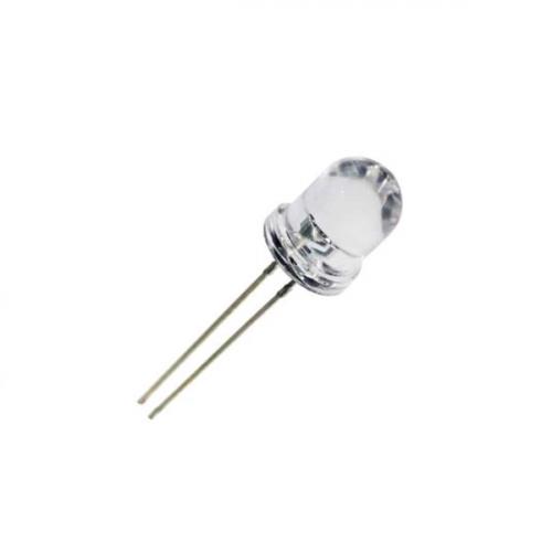 Led 10mm λευκό υψηλής φωτεινότητας 25° RL81-WH744W