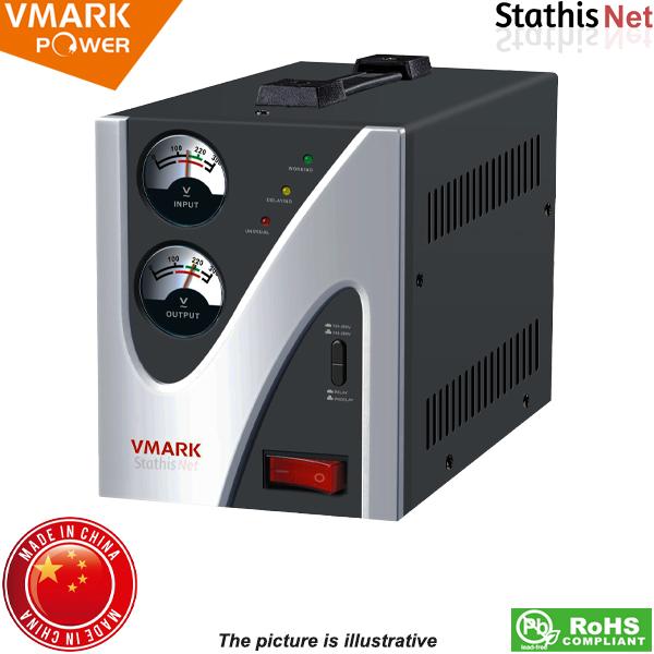 Σταθεροποιητής αναλογικός relay 1500VA RM-02 VMARK