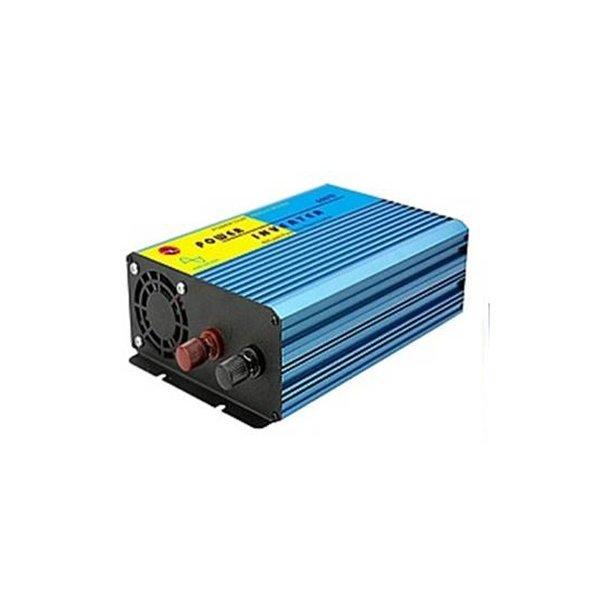 Inverter 12V->230V 600W καθαρού ημιτόνου ZB600-S Senzhen