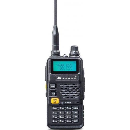 Πομποδέκτης Φορητός VHF/UHF CT590S Midland