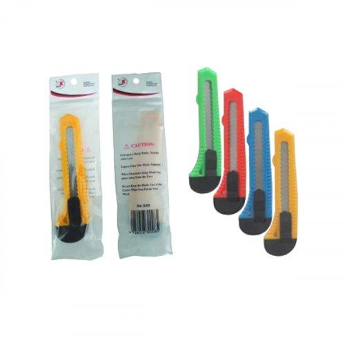 Κόφτης μαχαίρι με λεπίδα 150mm σε διάφορα χρώματα VERSA