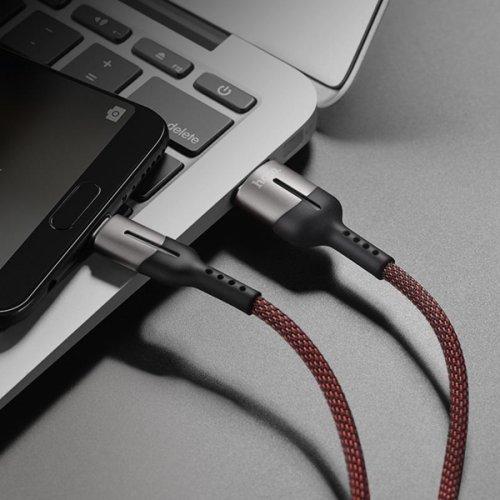 Καλώδιο φόρτισης & συγχρονισμού 5V 4A USB A -> Micro USB 1.2m full speed μαύρο U68 Hoco