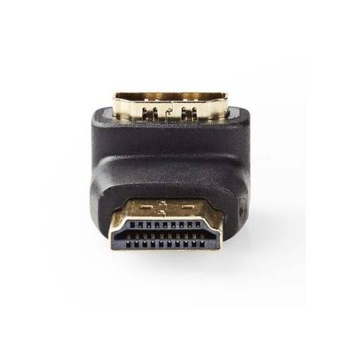 Αντάπτορας HDMI αρσενικό -> HDMI θηλυκό με γωνία 90* κάτω CVGP34901BK Nedis