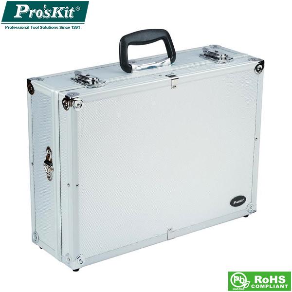 Βαλίτσα εργαλείων PVC με πλαίσιο αλουμινίου 458X330X150mm