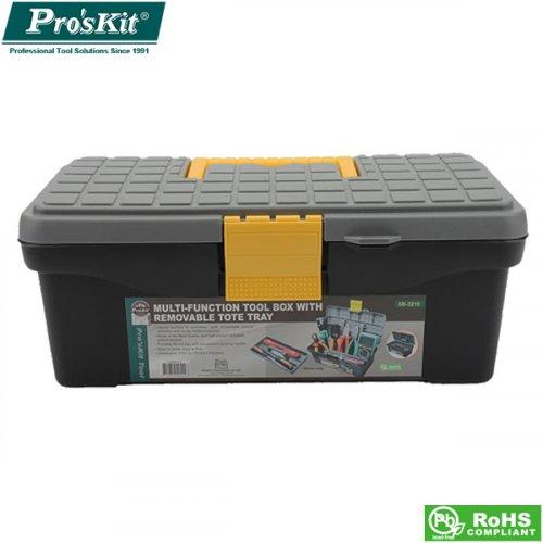 Βαλίτσα εργαλείων πλαστική 315X175X130mm SB-3218 Pro'sKit
