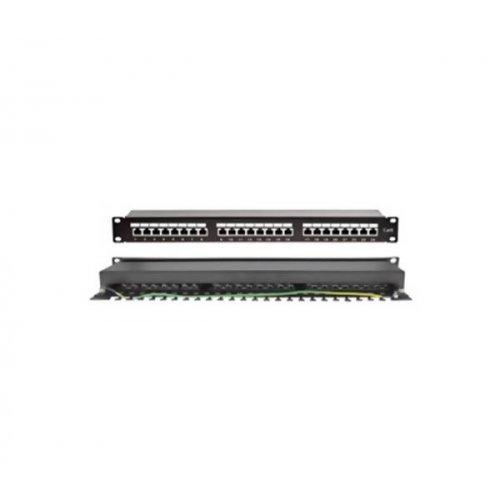 Patch panel STP CAT6 24P + Cable Manager 1U PP6-14 SUT