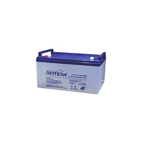 Μπαταρία 12V 110 Ah μολύβδου βαθιάς εκφόρτισης PT110-12 Pattern