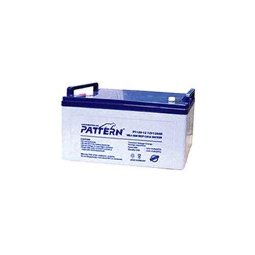 Μπαταρία 12V 120Ah μολύβδου βαθιάς εκφόρτισης PT120-12 Pattern