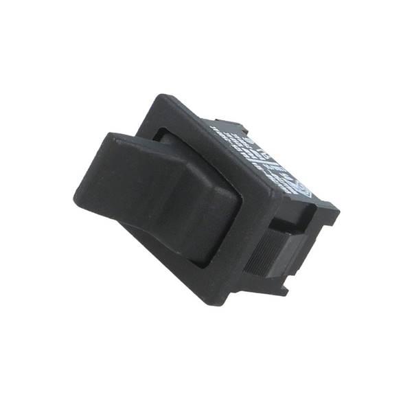 Διακόπτης toggle OFF-ON SPST 10A 230V AC 3P χωρίς λυχνία μαύρος 01811.1102-02 MARQUARDT