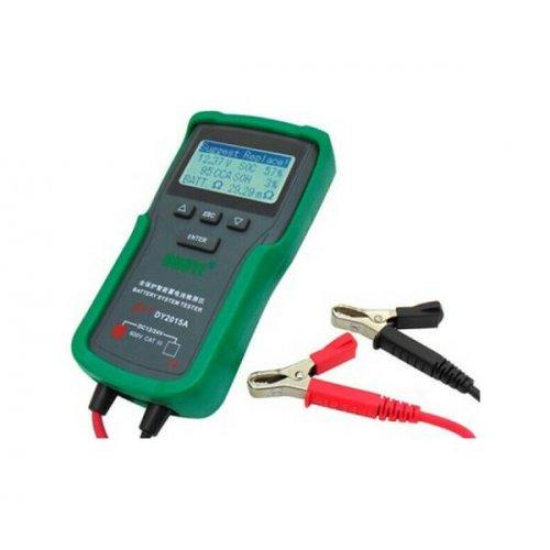 Tester μπαταριών μολύβδου 12V/24V DC με LCD panel DY2015Α Duoyi