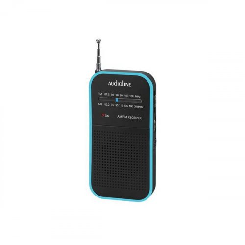 Ραδιόφωνο Φορητό Αναλογικό Μαύρο-Μπλέ TR-350 Audioline